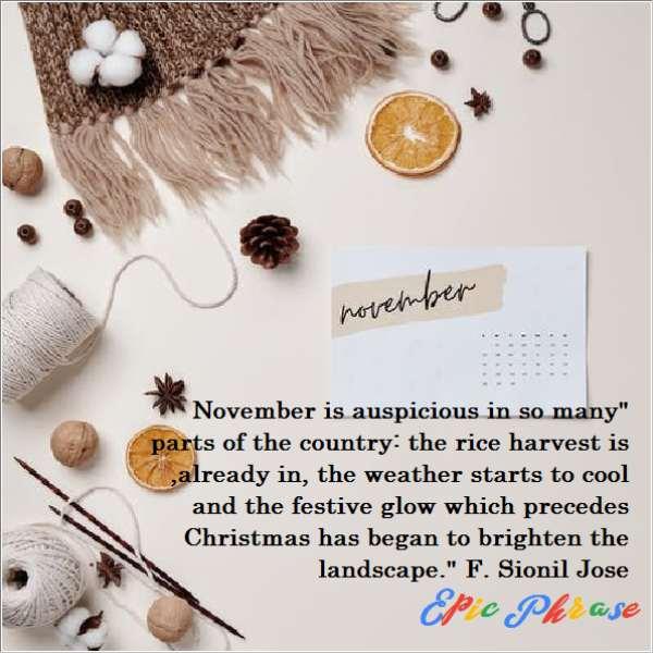 November Quotes 3