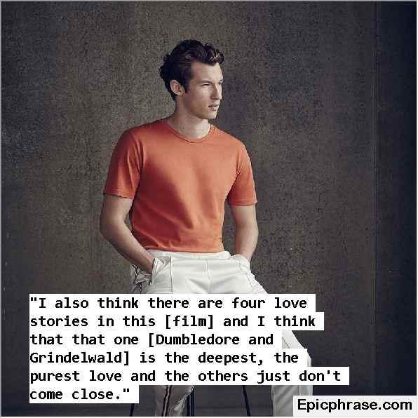 Callum Turner Quotes about success