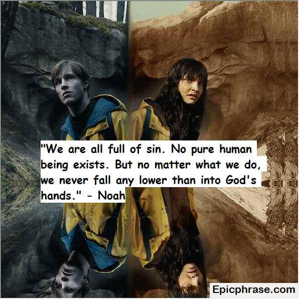 The dark quotes