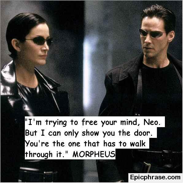 The Matrix Quotes Philosophy