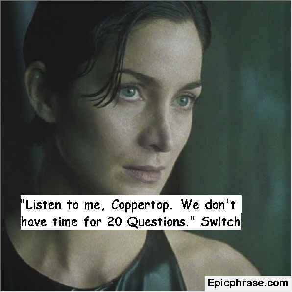The Matrix Quotes Morpheus