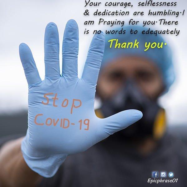 thank you coronavirus helpers images