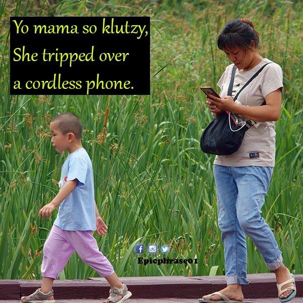 yo mama pickup lines