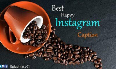 best happy instagram caption