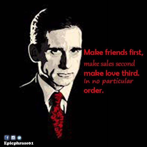michael scott quotes about friends