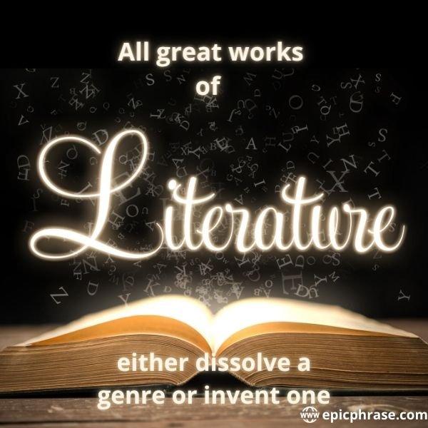 literary genre quotes